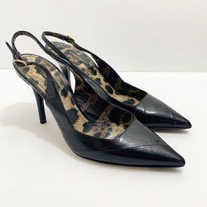 Dolce & Gabbana Black Slingback Pump, Size 6